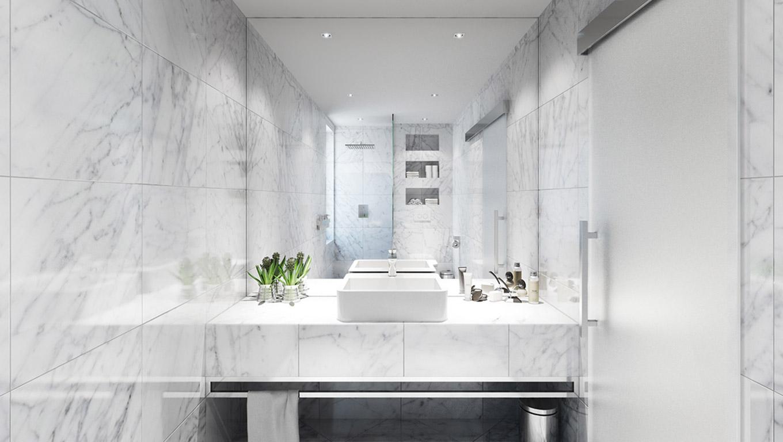 Marmol White Polished Ambiente