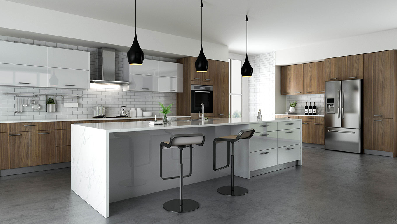 Walnut Kitchen Ambiente